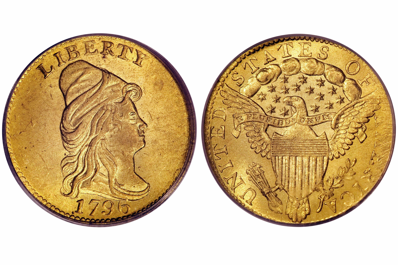 1796 Draped Bust $2.50 Gold Quarter Eagle - No Stars