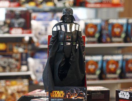 Star Wars Merchandise Is Displayed Ahead Of Star Wars: Episode VII - The Force Awakens Release In December