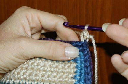 Single Crochet Join -- Work in Progress