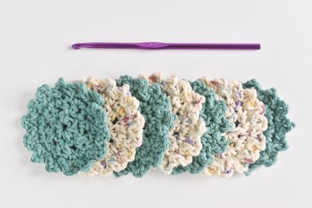 How To Crochet Reusable Face Scrubbies