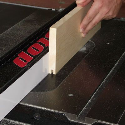Cut the Grooves in the Boards