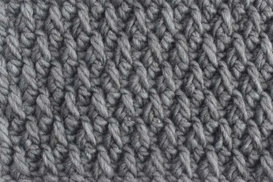 Sample of Alpine Crochet Stitch