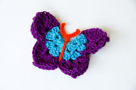 35+ Crochet Butterfly Patterns (Free!) | AllFreeCrochet.com | 298x450