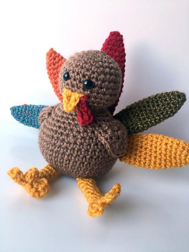 10 Free Amigurumi Turkey Crochet Patterns