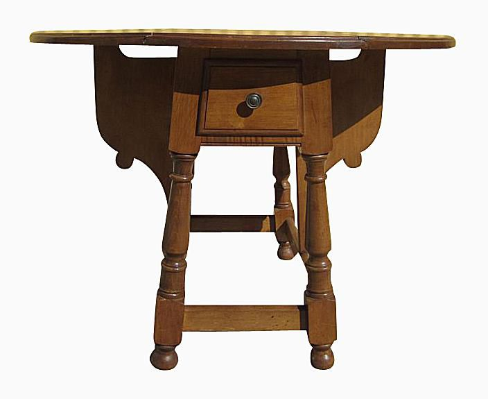 Pine Drop Leaf Gate Leg Erfly Table