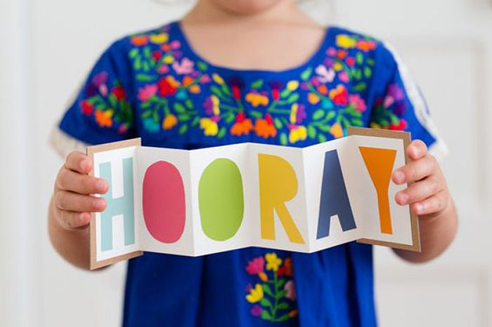 DIY Hooray Gift Card Holder
