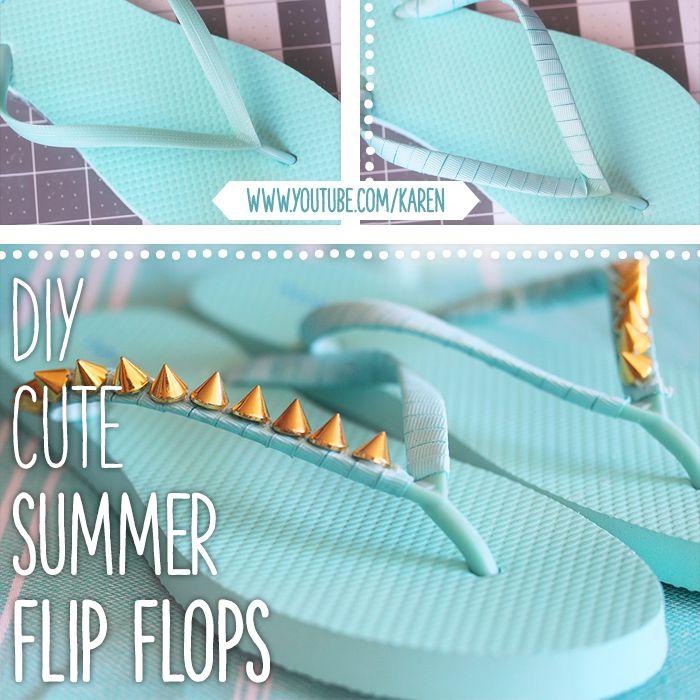 430075f398d83c 20 Creative Ways to Make DIY Flip Flops