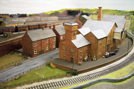 Making Paved Roads and Scenery for Your Model Trains