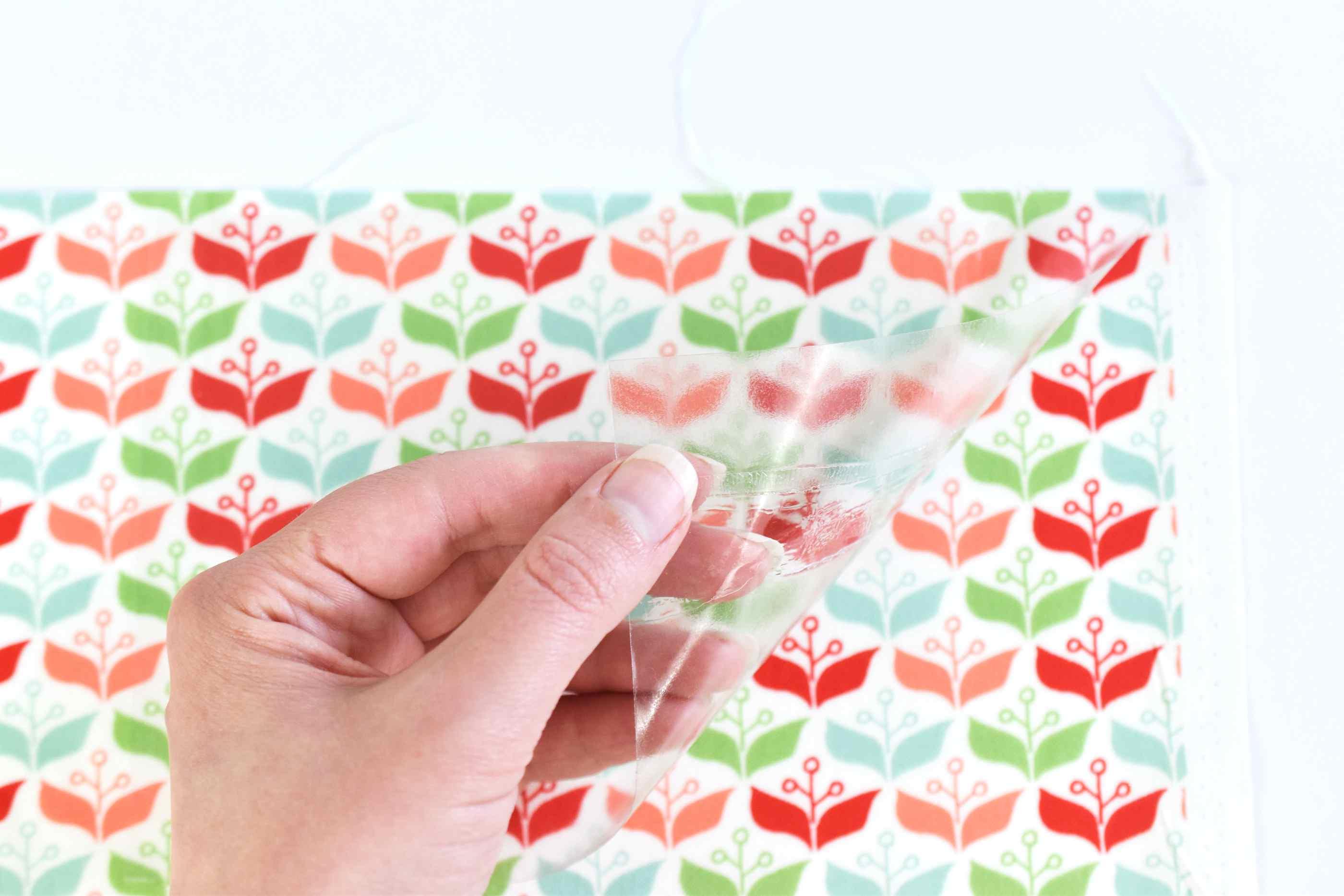 Applying Fabric Laminating Film