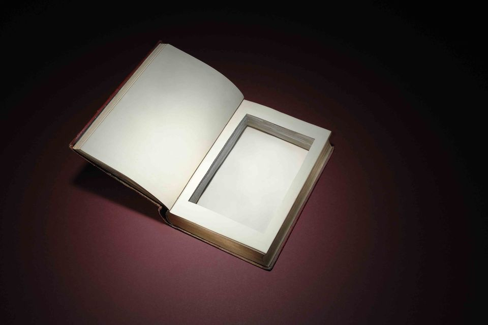 Make Your Own Secret Compartment Book