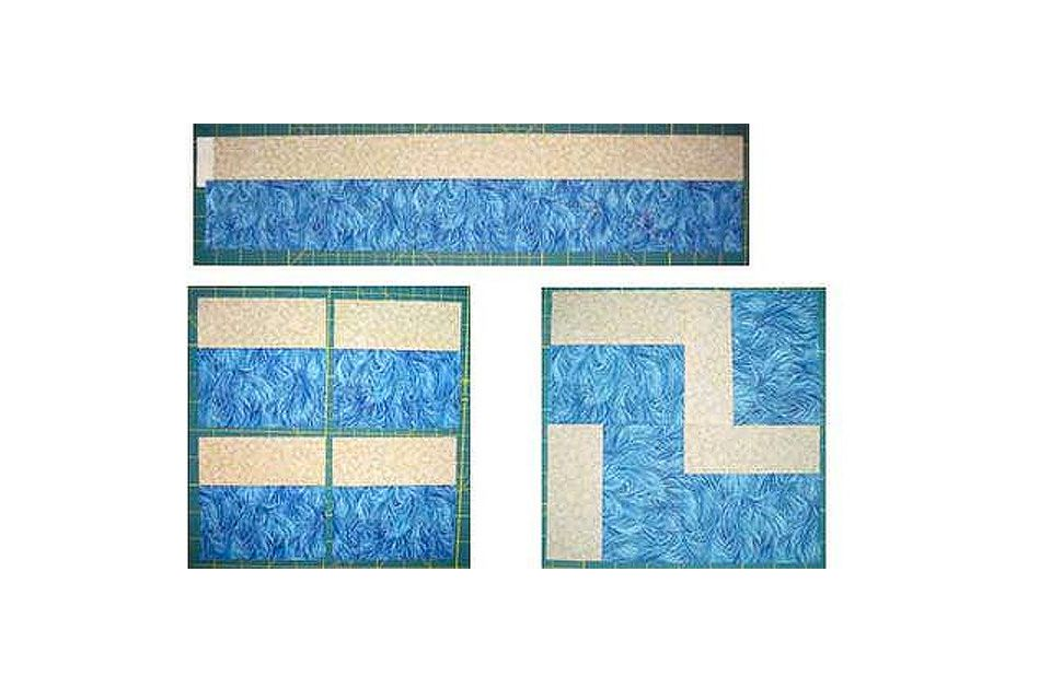 Endless Stairs Quilt Block Pattern