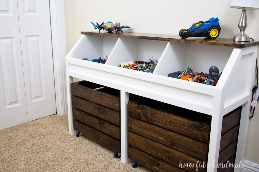 11 Free Toy Box Plans That You Can Build In A Weekend