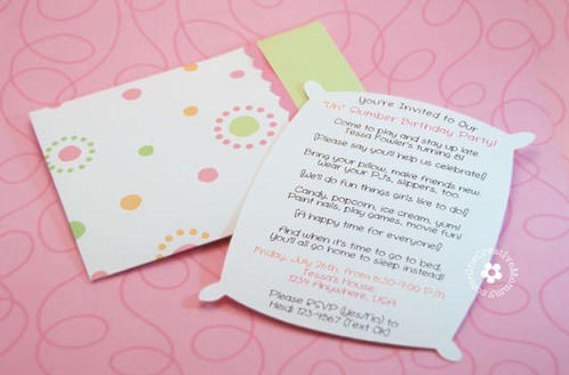 15 Free, Printable Sleepover Invitations She'll Love