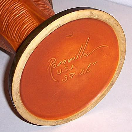 Roseville Pottery Co. Mark ca. 1939