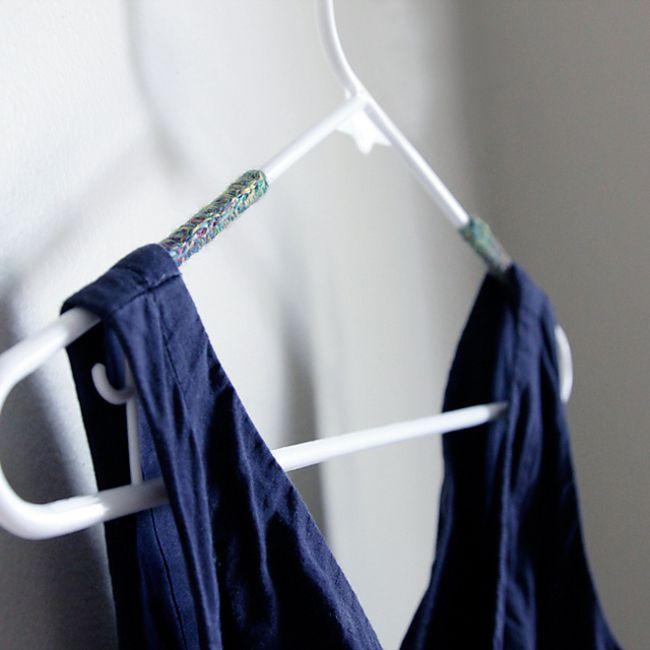 Crochet Hanger Cover Free Pattern