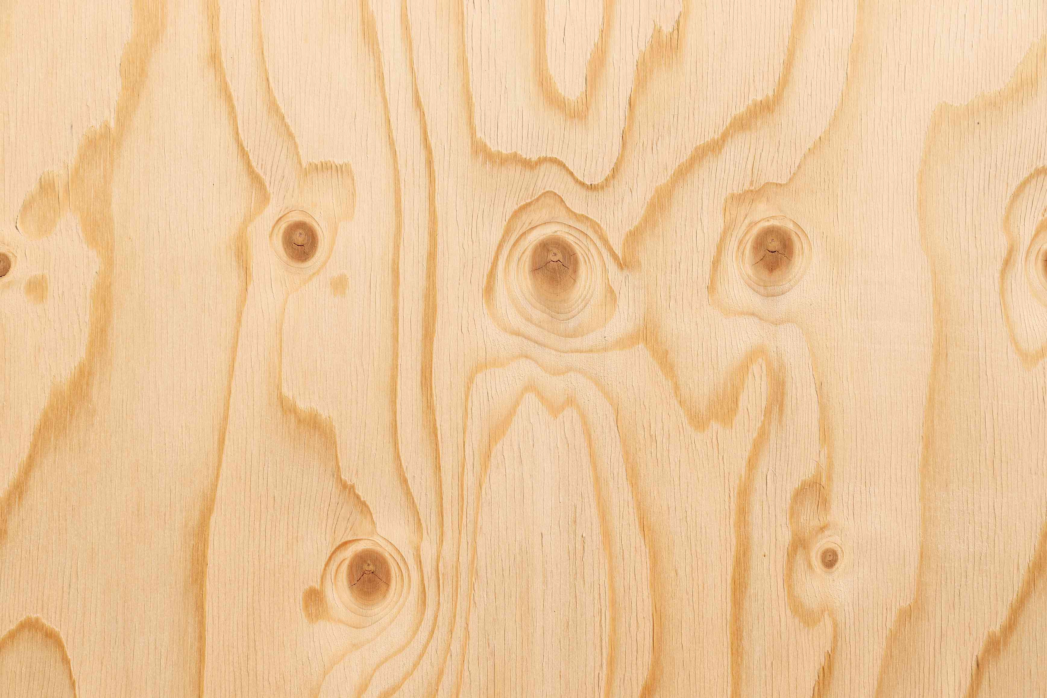 Pine Plywood surface