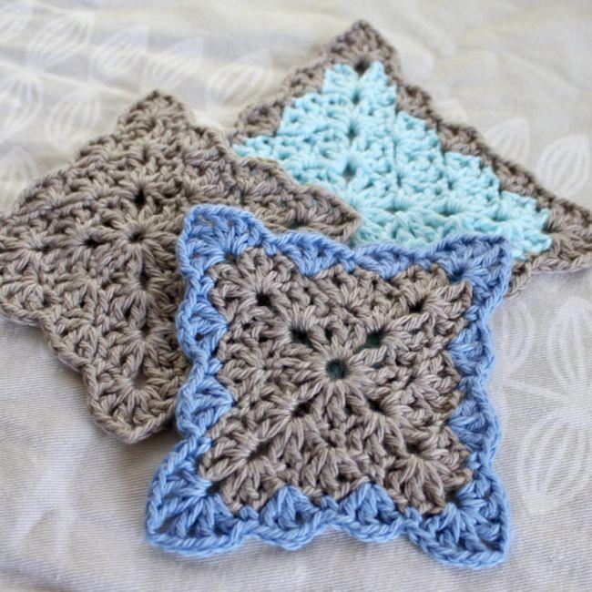 Lacy Shells Coaster Crochet Pattern