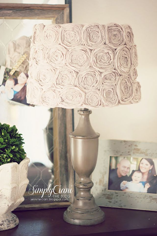16 diy lampshades to brighten up a room aloadofball Gallery