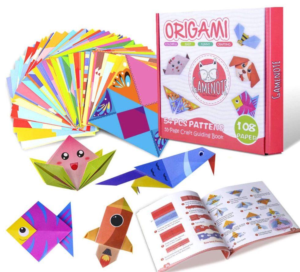 Gamenote Colorful Kids Origami Ki
