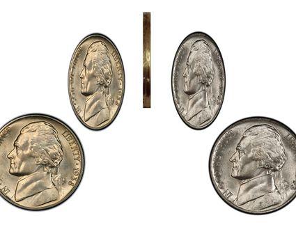 A Two-Headed Jefferson Nickel