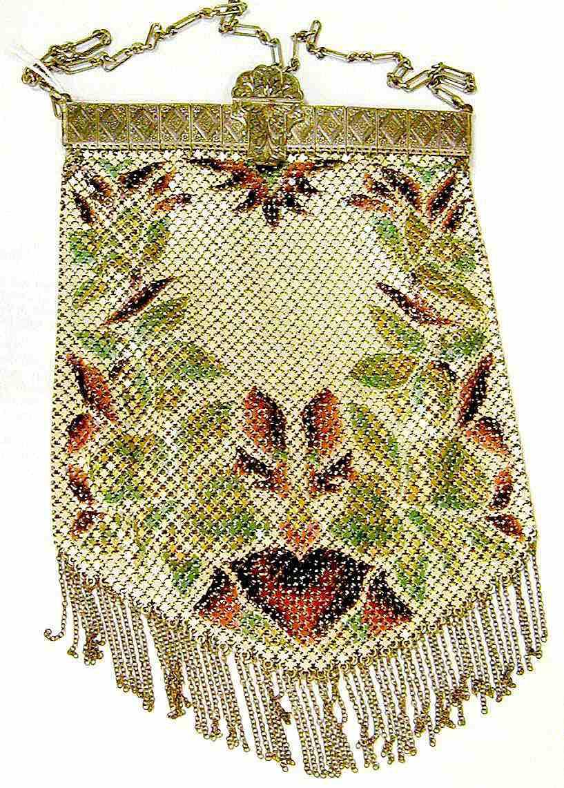 Mandalian Metal Mesh Handbag