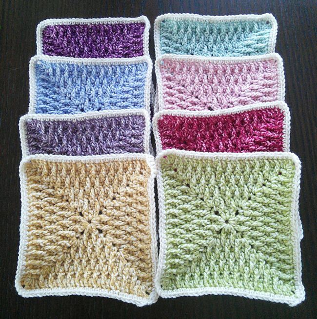 15 Creative Crochet Granny Square Patterns