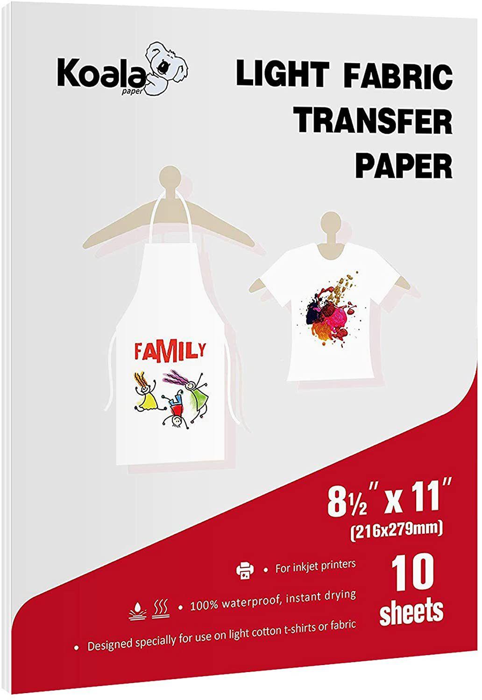 Koala Light T-shirt Transfer Paper