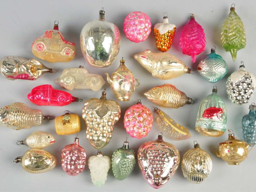Old Christmas Decorations.How Much Are Old Glass Christmas Ornaments Worth