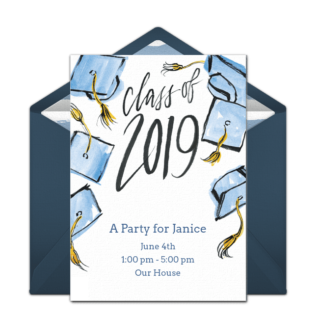 7 Free Printable Graduation Invitations Templates