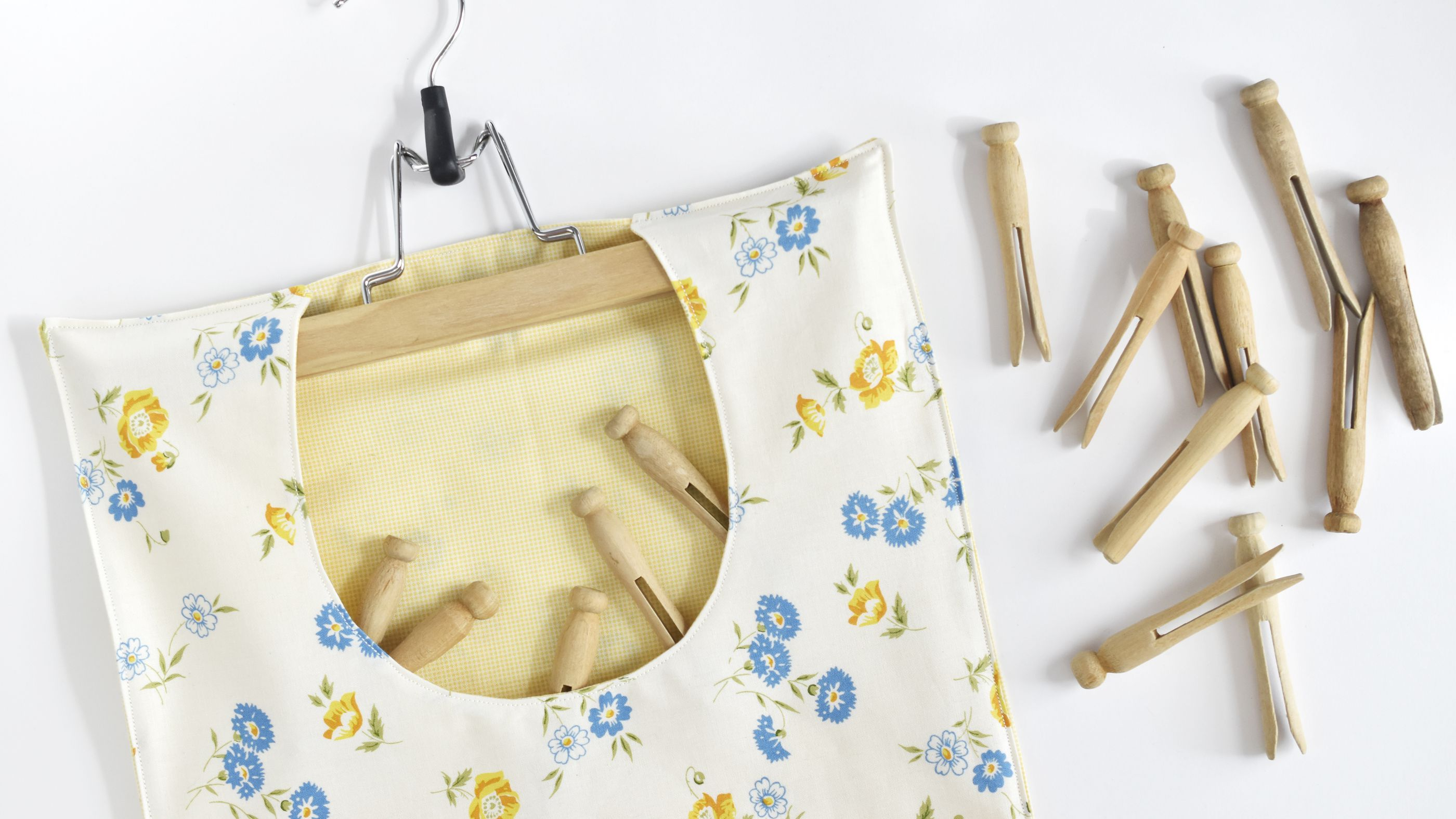 How To Make Your Own Clothespin Bag