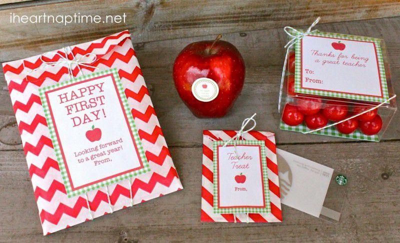 Printable Teacher Gift Labels