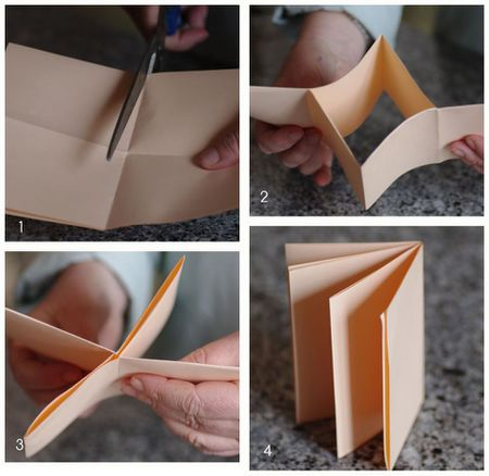 how to make a mini book tutorial