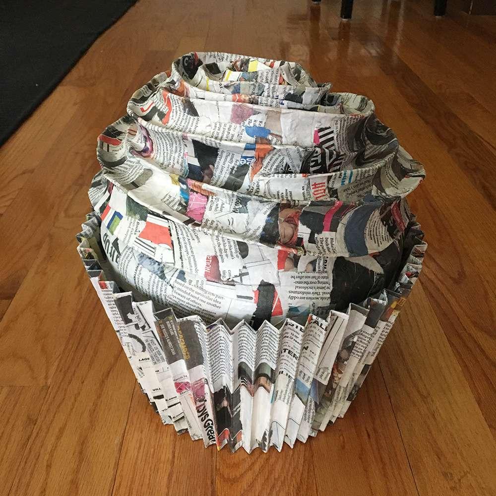 26 Creative Newspaper Crafts