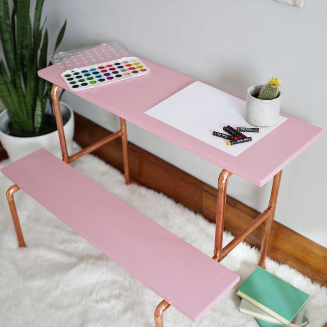 DIY Child's Desk