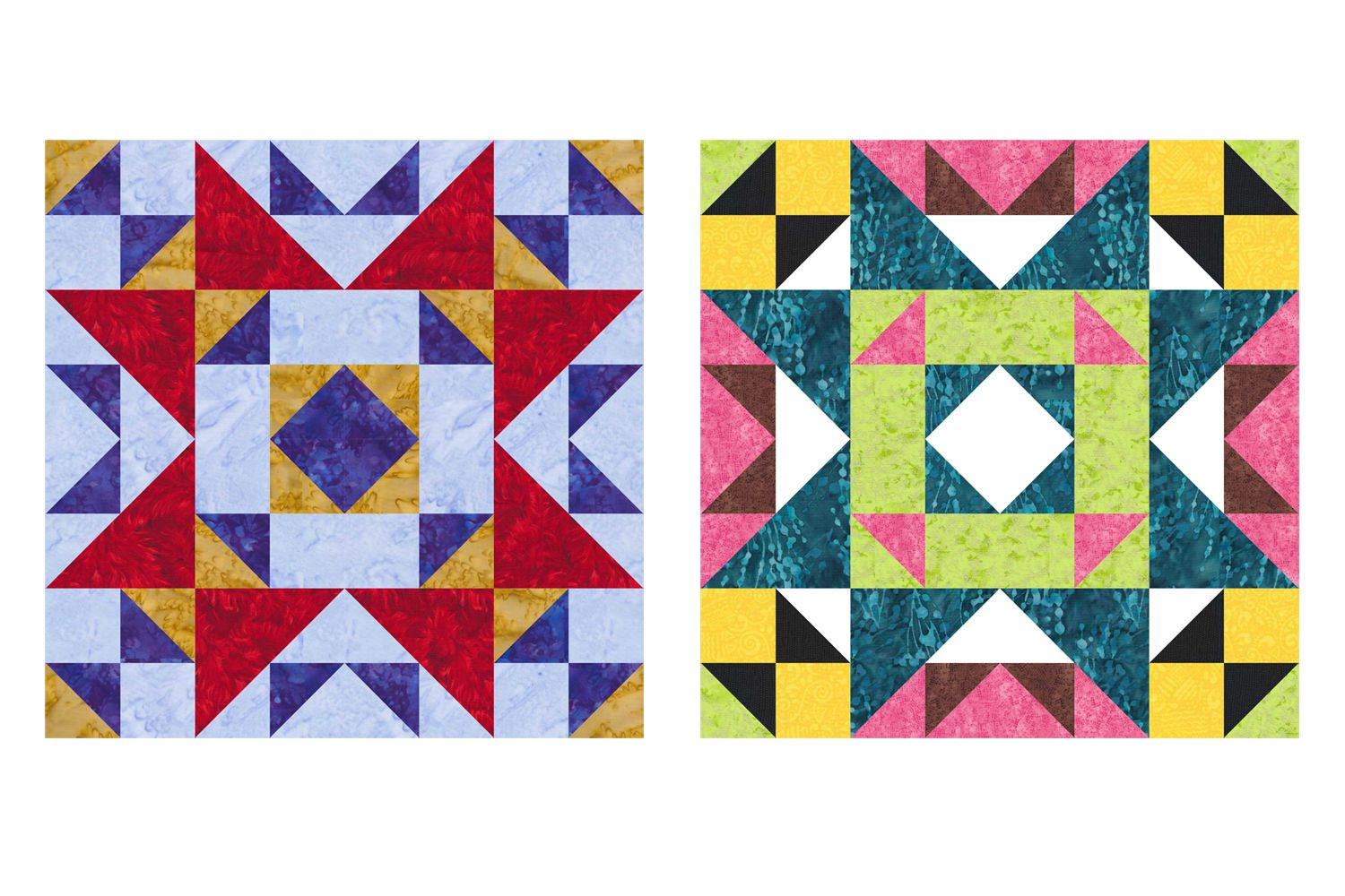 Patchwork Rich Old Maid S Puzzle Quilt Block Pattern