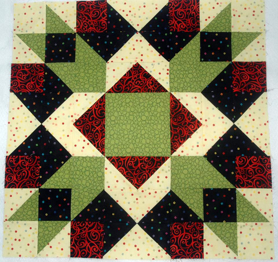Arrow Crown Quilt Block