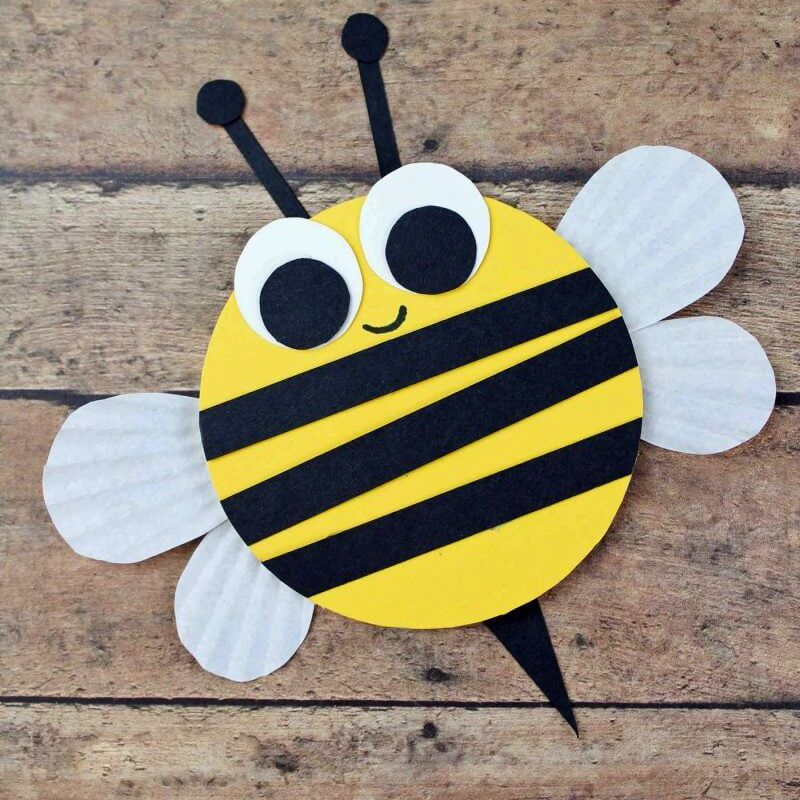 Wooden Bumble Bee