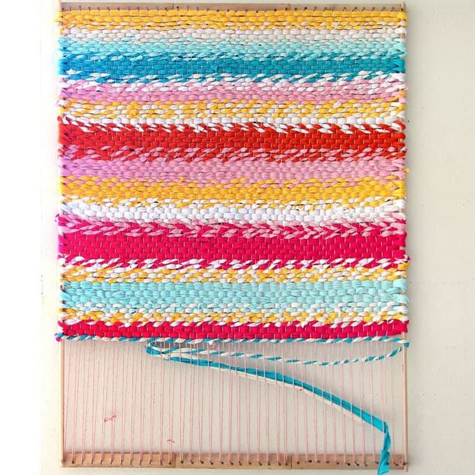 how to weave a rug