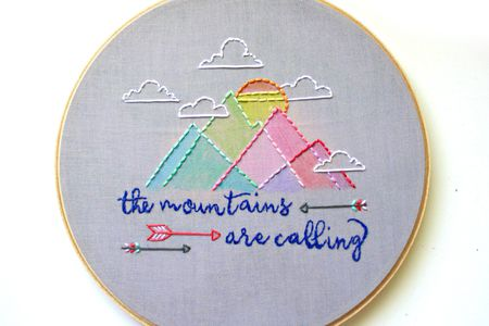 9 Hand Embroidery Patterns That Celebrate The Outdoors