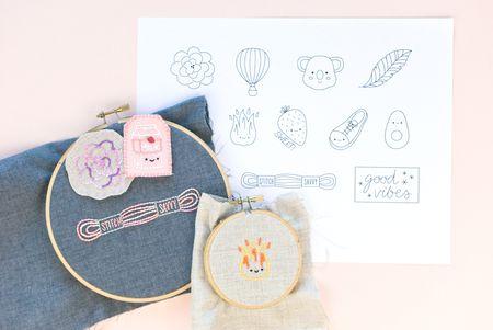 c824472f0c23 12 Fun and Cute Miniature Embroidery Patterns
