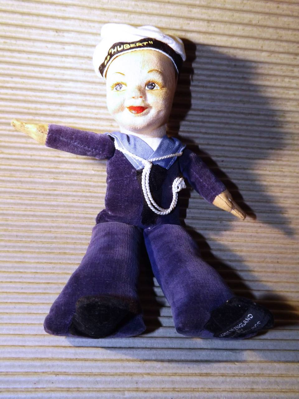 A pre-war Jolly Boy sailor doll from Norah Wellings in the UK probably 1930s - from SS Hubert