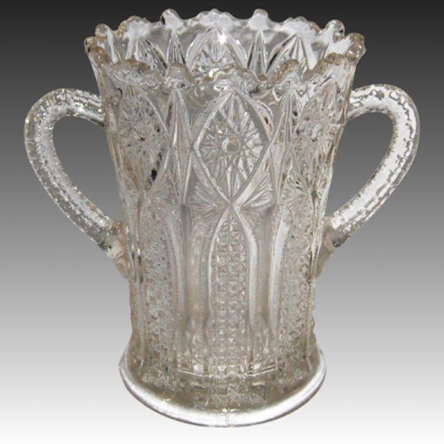 Early American Pattern Glass (EAPG) Spooner