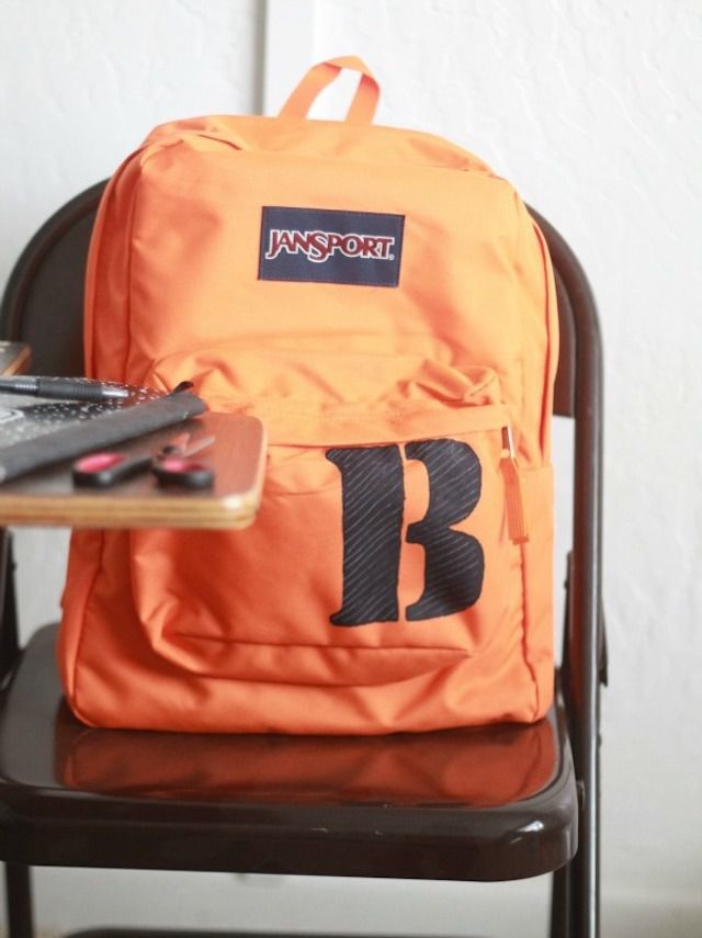 15 DIY Backpacks for Back-to-School bf82604b980b3