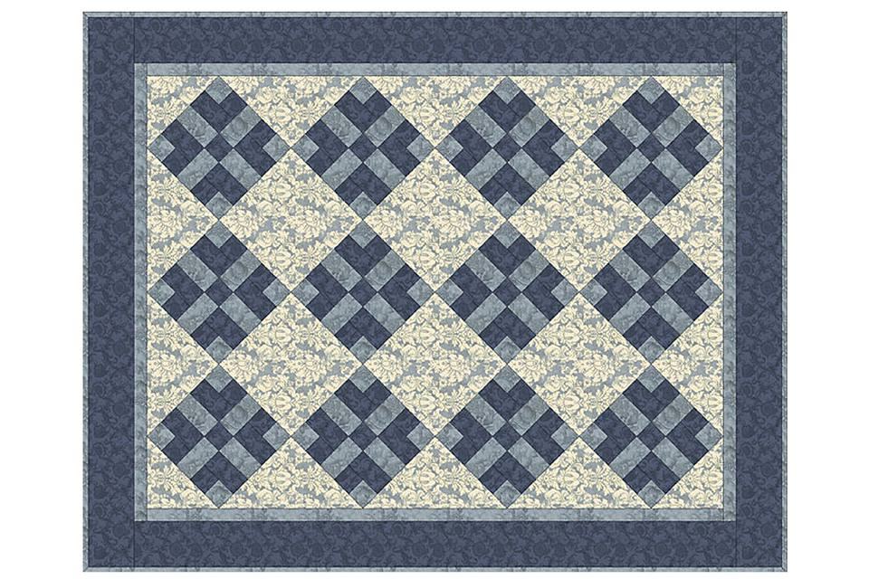 Got Blues Quilt Pattern