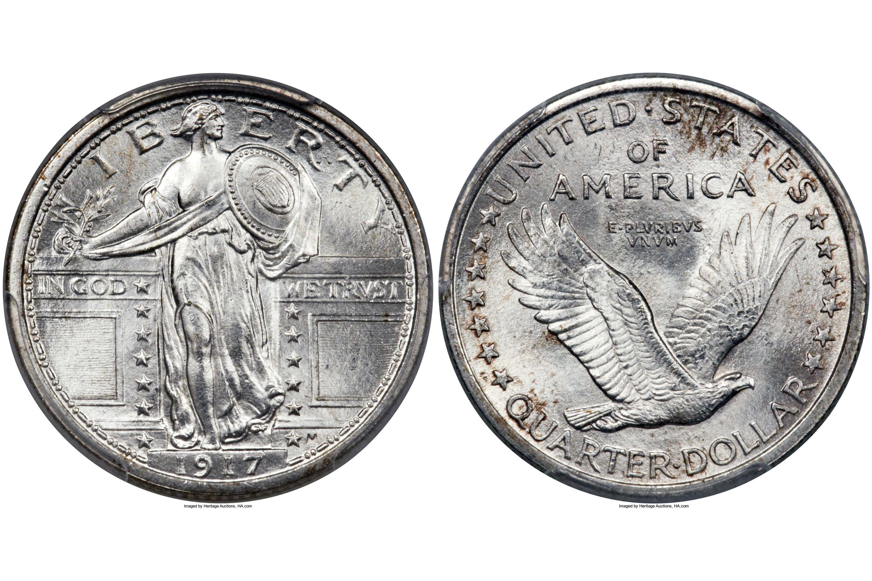1917 Standing Liberty Quarter Type I