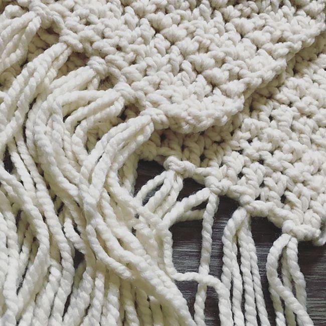 Crochet Blanket Scarf Free Pattern