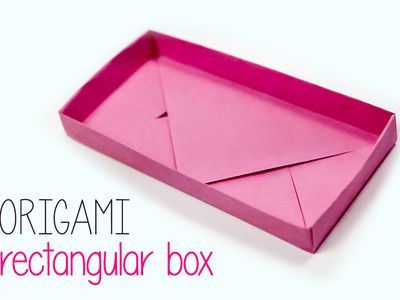 How to Make Paper Box Tutorial - Easy Origami Box - YouTube | 300x400