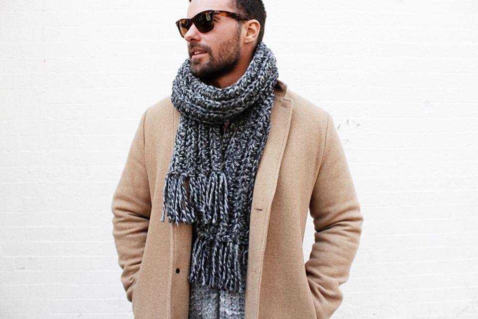 Men's Crochet Scarf Free Pattern