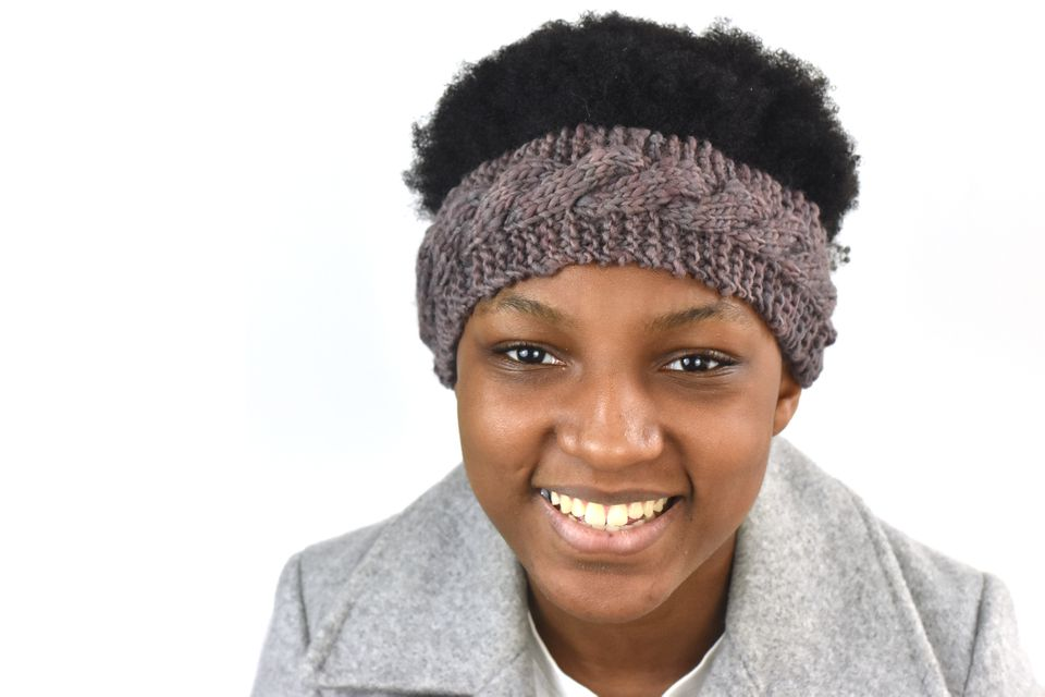 How to Knit a Cable Headband