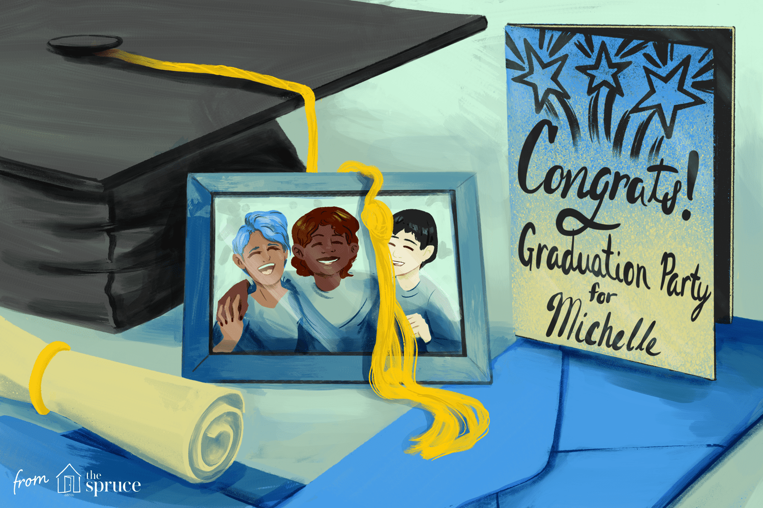 It's just an image of Légend Free Printable Graduation Invitations 2020